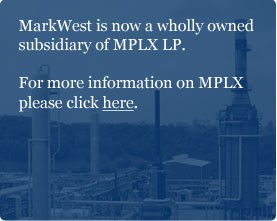 Home | MarkWest Energy Partners